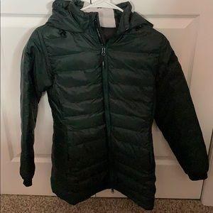 Canada Goose Green Puffer Jacket